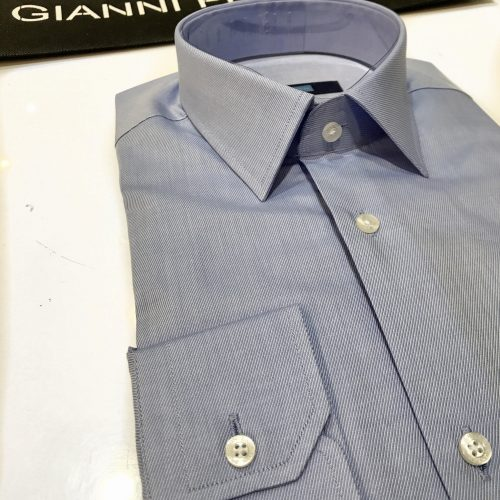 Chemise slim fit à rayures, Gianni Ferrucci - image chemise--500x500 on http://gianniferrucci-tlse.fr