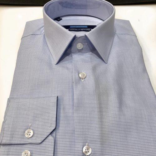 Chemise slim fit à rayures, Gianni Ferrucci - image chemise-petits-carreaux-2-500x500 on http://gianniferrucci-tlse.fr