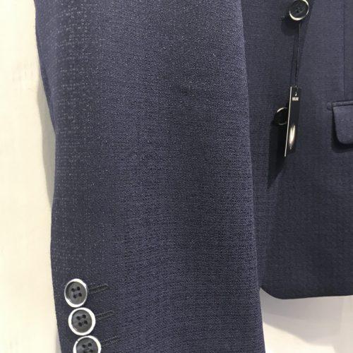 Veste marine piquée bordeaux tissus Marzotto Gianni Ferrucci - image veste-10-500x500 on http://gianniferrucci-tlse.fr