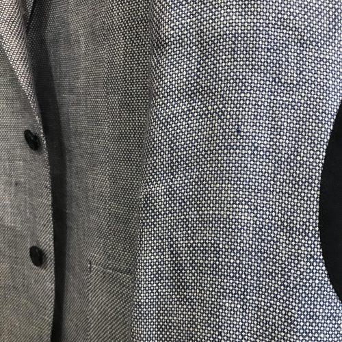 Veste marine piquée bordeaux tissus Marzotto Gianni Ferrucci - image veste-11-500x500 on http://gianniferrucci-tlse.fr