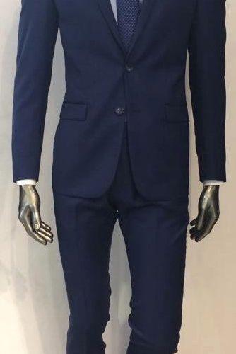 Costume en flanelle bleu, 100% laine - image 17821711_10212364817173657_1463854333_n-1-334x500 on https://gianniferrucci-tlse.fr