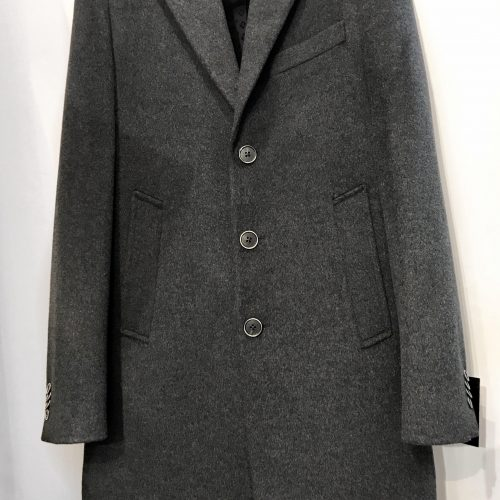 Manteau trois quart gris clair - image manteau-3-500x500 on https://gianniferrucci-tlse.fr