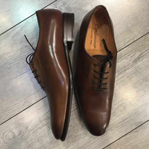 Chaussures à lacets cuir camel, Gianni Ferrucci - image bond-2-500x500 on https://gianniferrucci-tlse.fr