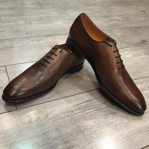 Chaussures à lacets cuir camel, Gianni Ferrucci - image bond-3-500x500 on https://gianniferrucci-tlse.fr