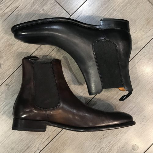 Chaussures à lacets cuir camel, Gianni Ferrucci - image bond-4-500x500 on https://gianniferrucci-tlse.fr