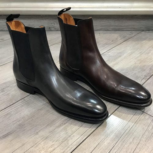 Chaussures à lacets cuir camel, Gianni Ferrucci - image bond5-500x500 on https://gianniferrucci-tlse.fr
