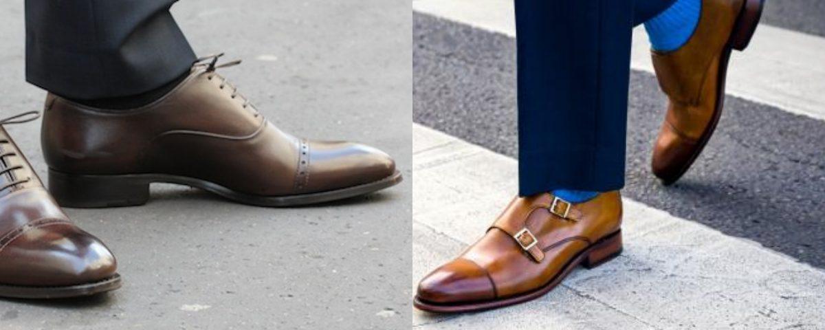 ce8bf20c375b6 Quelles chaussures porter avec un costume  - image collage-2-1200x480 on  https