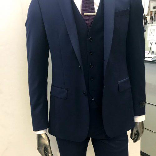 Costume 2 pièces Prince de Galles gris tissu Marzotto, Gianni Ferrucci - image cerr-3p-4-500x500 on https://gianniferrucci-tlse.fr