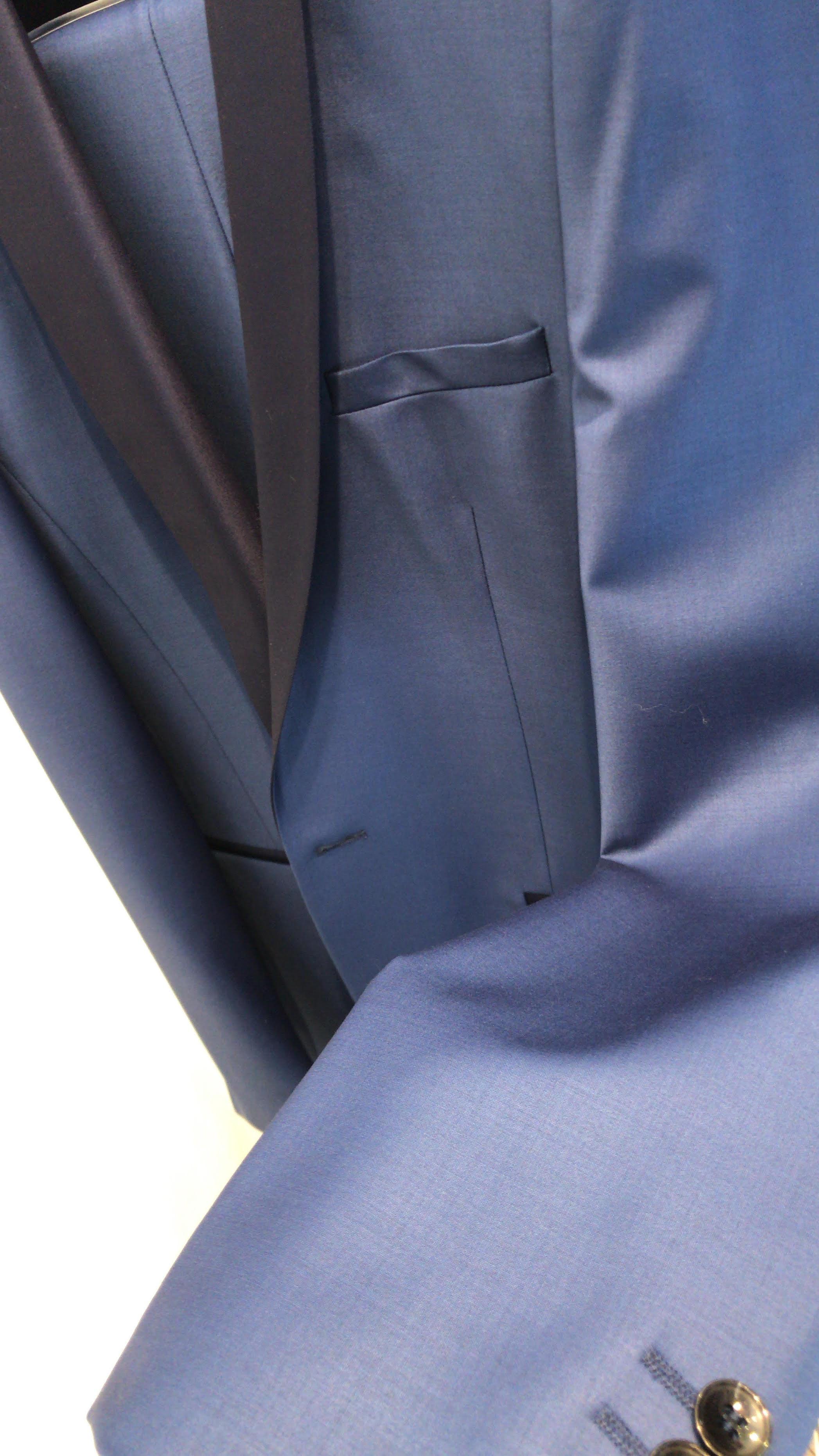 Smoking bleu Roi col châle bleu marine, Gianni Ferrucci - Gianni ... 8dfd9f5a047