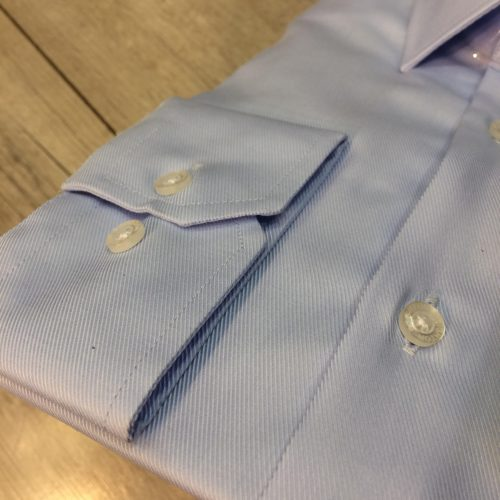Chemise bleu ciel imprimée - image chemise-double-retord-2-500x500 on https://gianniferrucci-tlse.fr