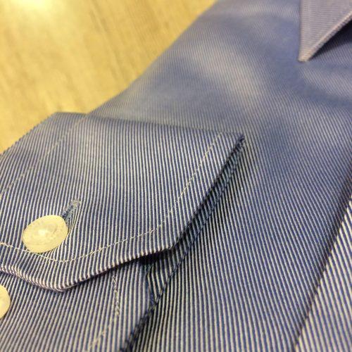 Chemise bordeaux à motifs - image chemise-fine-rayures-bleu-fonce--e1538145439134-500x500 on https://gianniferrucci-tlse.fr