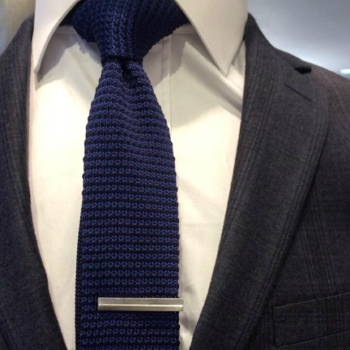 Jovivi 2PCS Cravate Cha/îne Pince /À Cha/îne Chemise Hommes Collier Clip Bar Broche Cha/îne /él/égante Haute Qualit/é Col Manchette Argent Or Cadeau Homme