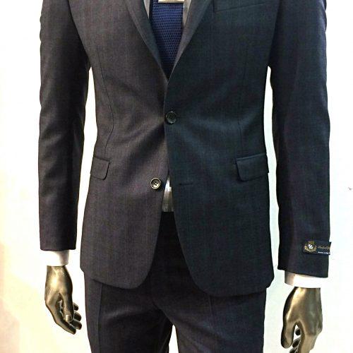 Costume 2 pièces Prince de Galles gris tissu Marzotto, Gianni Ferrucci - image lanficio3-1-500x500 on https://gianniferrucci-tlse.fr