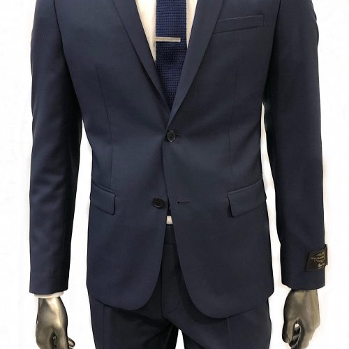 Costume 2 pièces Prince de Galles gris tissu Marzotto, Gianni Ferrucci - image costbleu4-500x500 on https://gianniferrucci-tlse.fr