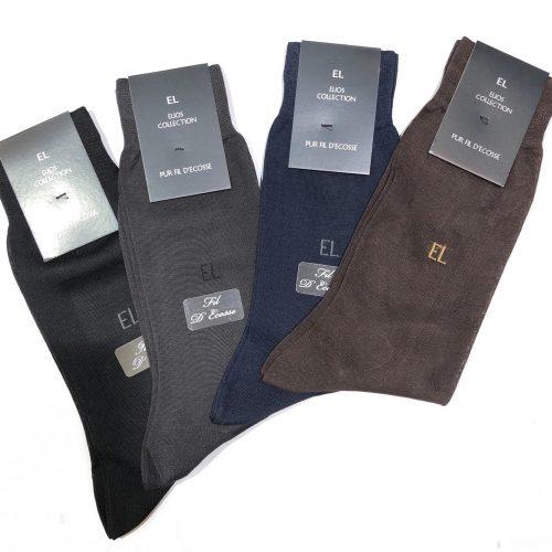 Ceinture en cuir lisse noire avec boucle - image chaussette-500x500 on https://gianniferrucci-tlse.fr