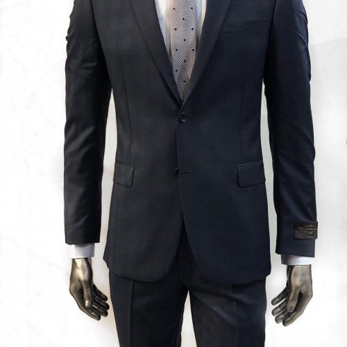 Costume bleu faux uni, 100% laine - image cost5-500x500 on https://gianniferrucci-tlse.fr