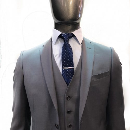 Costume 2 pièces Prince de Galles gris tissu Marzotto, Gianni Ferrucci - image 3p-3-500x500 on https://gianniferrucci-tlse.fr