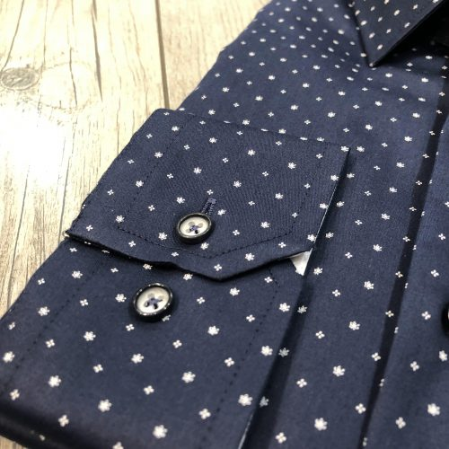 Chemise bleue à motifs - image blrumarine2-500x500 on https://gianniferrucci-tlse.fr