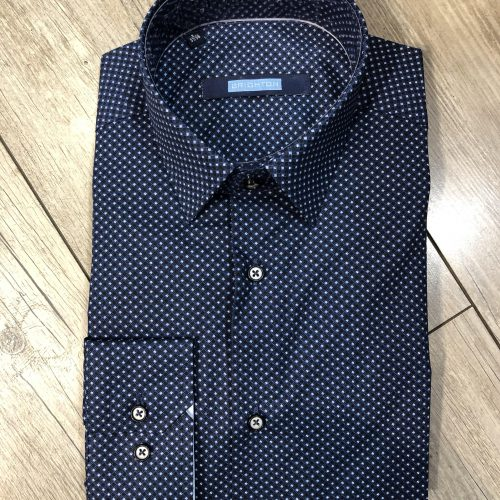 Chemise bleue à motifs - image marine-e1551361648706-500x500 on https://gianniferrucci-tlse.fr
