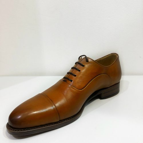 Chaussures à lacets cuir camel, Gianni Ferrucci - image cordw2-500x500 on https://gianniferrucci-tlse.fr
