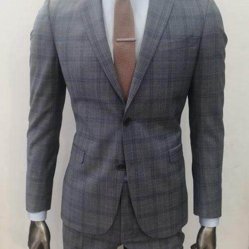 Costume 2 pièces Prince de Galles gris tissu Marzotto, Gianni Ferrucci - image IMG_20200612_140918-500x500 on https://gianniferrucci-tlse.fr