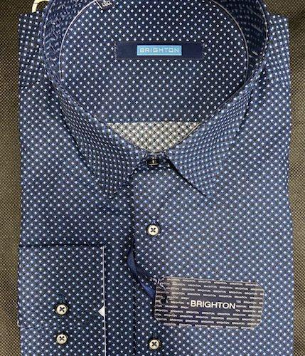 Chemise bleu à imprimée - image IMG_1205-429x500 on https://gianniferrucci-tlse.fr