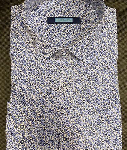 Chemise bleu à imprimée - image IMG_1212-424x500 on https://gianniferrucci-tlse.fr