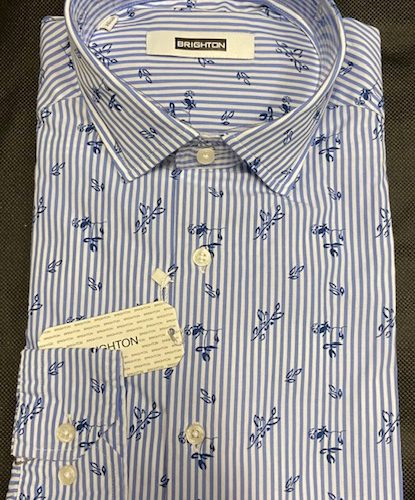 Chemise à carreaux bleu - image IMG_1216-415x500 on https://gianniferrucci-tlse.fr