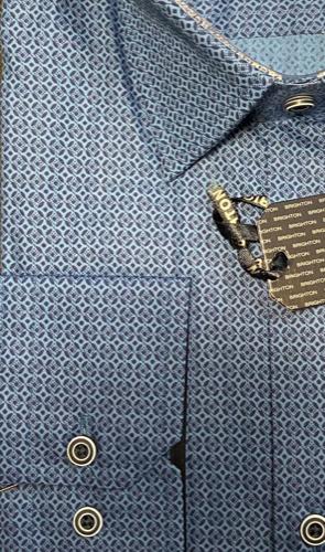 Chemise bleu à imprimée - image IMG_1310-295x500 on https://gianniferrucci-tlse.fr