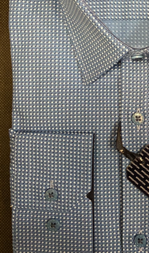 Chemise bleu à imprimée - image IMG_1353-295x500 on https://gianniferrucci-tlse.fr