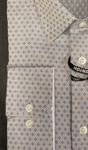 Chemise blanche à motifs marine - image IMG_1356-295x500 on https://gianniferrucci-tlse.fr