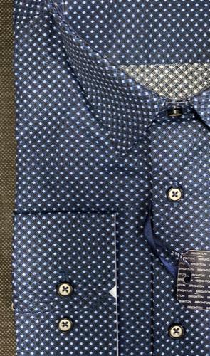 Chemise bleu à imprimée - image IMG_1357-295x500 on https://gianniferrucci-tlse.fr