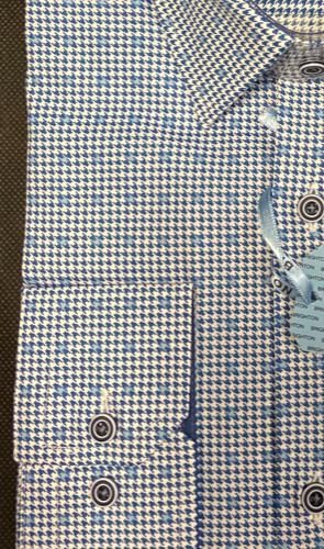 Chemise à carreaux bleu - image IMG_1361-295x500 on https://gianniferrucci-tlse.fr